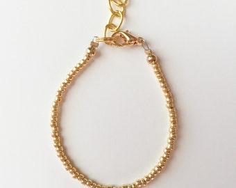 Slim & Dainty Gold Bracelet