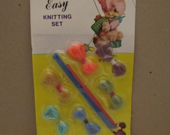 1970s Easy Knitting Set