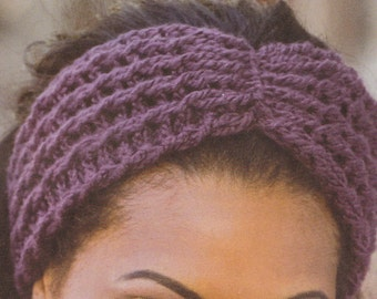 REVERSIBLE CABLED HEADBAND