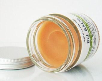 Healing Calendula Bee  Balm with St John's wort & Rosemary . 100% Natural Herbal Salve