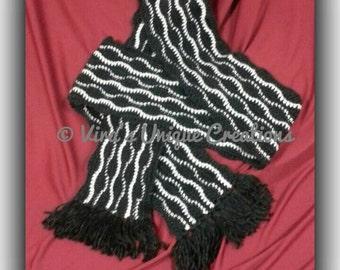 Crochet man ripple scarf, crochet man scarf, man scarf, man ripple scarf, man crochet scarf, man crochet ripple scarf, made-to-order