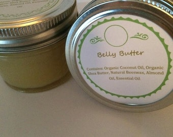 Belly Butter, stretch mark cream, organic belly balm