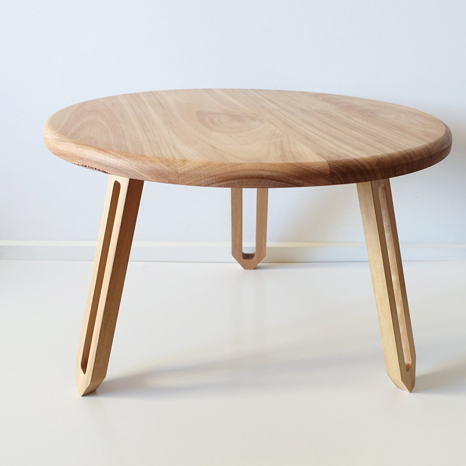 Round Maple Table Round Coffee Table