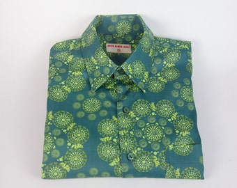 Short Sleeved Organic Cotton Shirt Men's
