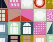 SALE - Pre-Cut Fat Quarter - Melody Miller / PLAYFUL / Memory in Pink / Cotton and Steel