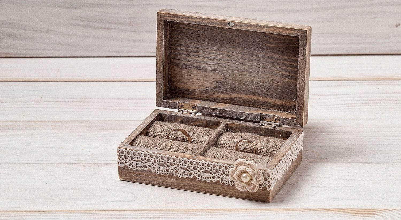 ivory wedding ring bearer box wedding ring box ring box