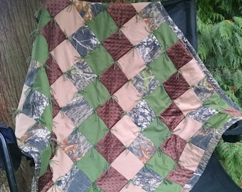 Camouflage  Patchwork Quilt