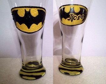 Batman Beer Pilsner Glass