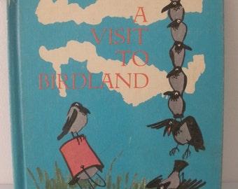 Vintage A Visit to Birdland