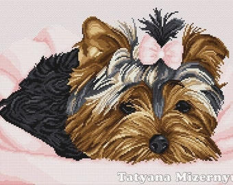 "Cross stitch pattern ""Yorkshire"""