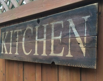 ... Items Rustic Kitchen The Popular On Etsy Rustic Signs Kitchen Sign For  For ...