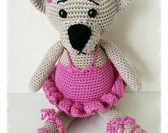 Ballerina bear PDF pattern