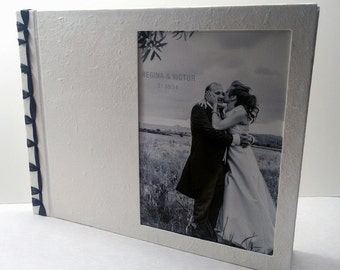 Wedding book bookbinding, book guest book, photo album, guestbook,