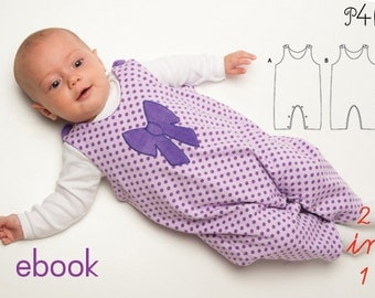 Sewing pattern baby overall Plinio - ebook with instructions