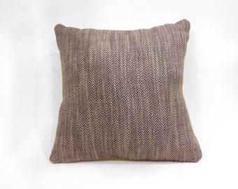 Handmade Herringbone Cushion