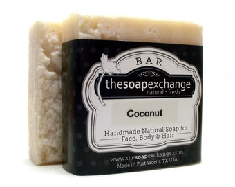 Coconut Soap, Natural Soap, Handmade Soap, Scented Soap, The Soap Exchange