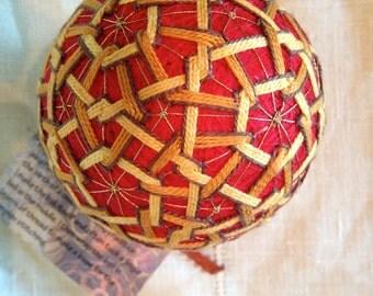 One of a kind Temari Ball