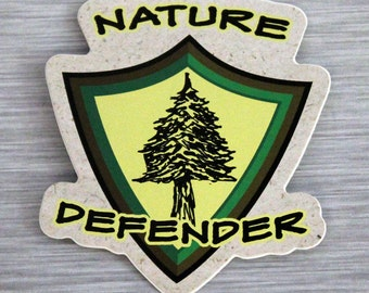 Nature Defender Sticker Outdoor Bumper Stickers
