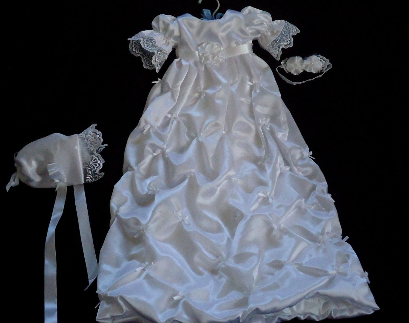 Baby Girl Baptism dress Christening Gown Blessing gown