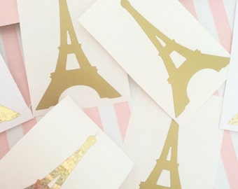 Eiffle tower wall decals