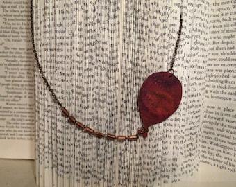 Metal Balloon Necklace