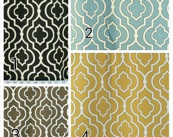 "Window Curtains - Pair of drapery curtain panels 24"" or 50"" wide x 63, 84, 90, 96, 108 & 120"" long.  Custom Window Treatments. Donetta."