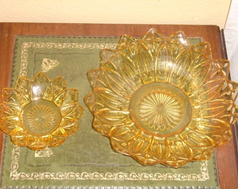 Antique Candy Plate and Nut Dish / nut dish / Glass Candy Plate / Glass nut dish / nut bowl / Vintage Glass