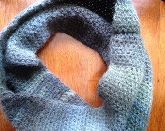 Thunderstorm Colors Cowl Scarf