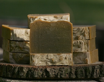 Vegan/Cruelty-free/All Natural Spirulina Cold Process Soap