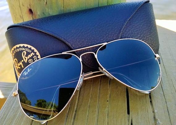Vintage Ray Ban Aviator Sunglasses