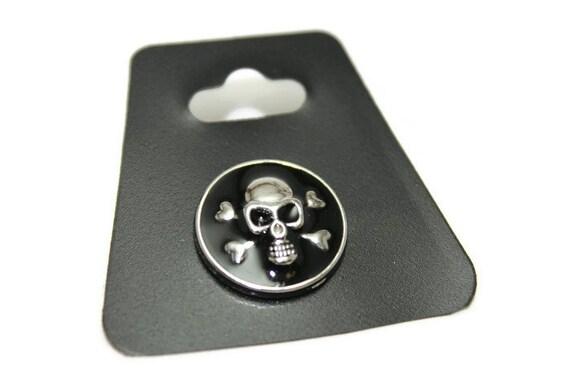 bouton snap boutons snap t te de mort boutons pression. Black Bedroom Furniture Sets. Home Design Ideas
