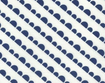 Moda Happy Go Lucky Jump Navy (Half metre)