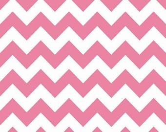 Riley Blake Sparkle Chevron Hot Pink (Half metre)