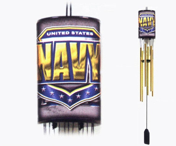 Military Wind Chimes Air Force Army Coast By