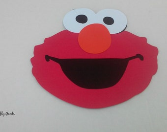Set of 4 Elmo Die Cuts