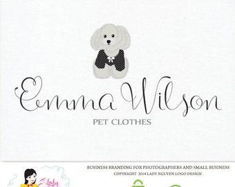 Premade Custom Pet Clothes Store Logo Design – LD015