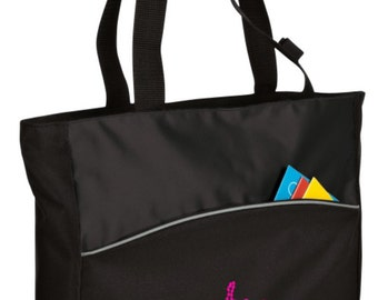 Personalized Tote Bag Embroidered Tote Bag Custom Tote Bag - Sports - Dance 1 - B1510