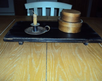 Handmade Vintage Primitive Table Riser in Your Choice of Color and Finish.