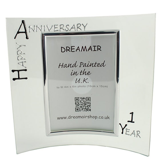 Personalised happy st year wedding anniversary by