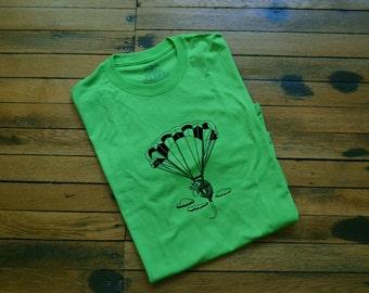 Customizable Skydiving Opossum Graphic T-Shirt