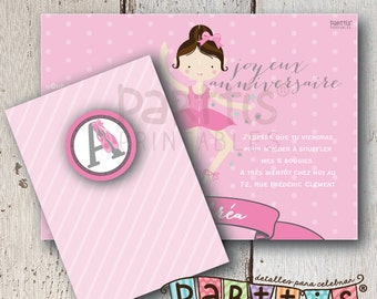 Ballet Party Printable Invitation