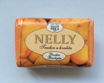 Vintage Czechoslovakia Soap Bar Nelly Peach