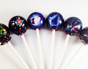 6 Nueroscience Hard Candy Lollipops