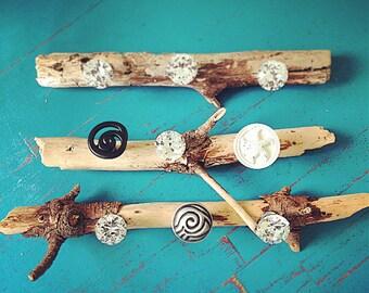 Jeweled Drift Wood Jewelry Holder