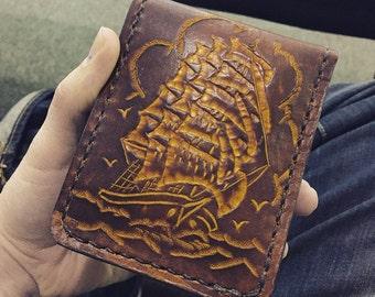 Clipper Ship Men's Wallet