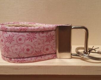 Handmade Mini Key fob wristlet.