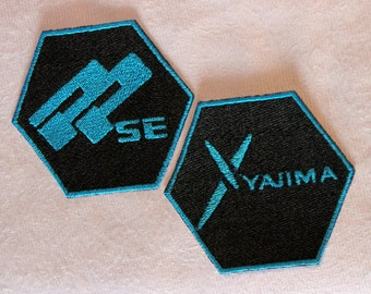 PPSE or Yajima Hexagon Embroidered Patch (Choose One)