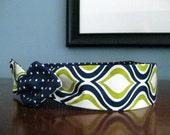 Headband Twist on Headband Reversible Designs Cotton Hair Accessory