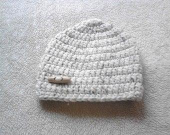 toddler boy hat, baby boy hat,  boy hat age 1-2, crochet boy hat, chunky boy hat, chunky hat , toddler boy hat
