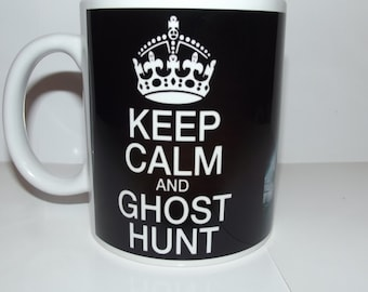 Keep Calm and Ghost Hunt Picture Coffee Mug